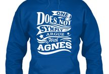 Agnes Name Funny Classic Shirt, Hoodies, Phone Cases, Mug Not Sold on Store / Agnes shirt custom design women name funny all about sweet gift