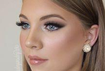Beautiful wedding make-up