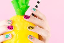 Fruit inspired Manicure