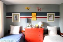 Boys bedroom ideas / by Jaime Bronn