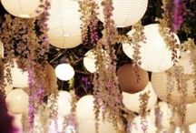 Wedding Ideas / Decor & flower Ideas for the wedding - Whimsical. Soft whites, few pastels mostly soft pinks or soft purples & soft greens. Vintage rather than rustic.