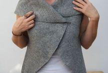 gilet lana cotta senza cuciture