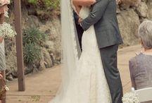 Bride - dress, shoes, hair, veil, accesories