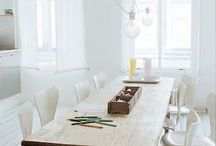 HOME // dining room / by Leah Wilson