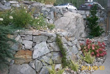 stone wall ideas / Welcome to Dream Yard's Pinterest board for landscaping walls. We have lots of great dry stack stone wall pictures and other walls to give you ideas for your own yard. Don't forget to check out some of our other landscaping boards, and thanks for stopping by   / by dreamyard