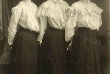 Ladies' uniforms, 1900s