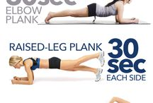 Fitness Exercises / 5min plank workout