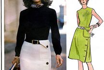 Sewing patterns - 70's