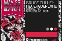 Bruce Cullen - NeverEverLand [Fraction Records] / Bruce Cullen makes another dynamite appearance on Fraction Records w his latest floor flexing trance entitled 'NeverEverLand'!  Out May 26, 2014 on Beatport  Energizing from the outset, flowing with power, a sure-fire show stopper! Thundering percussive grooves & bass patterns drive the floor instantly, whilst the roof-raising hooks, supercharged atmospherics & intense drops ensure maximum response!  Flipside, Danny Cullen continues 2 power peak time crowds with a fusion of high pressured beats!