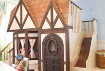wood house /