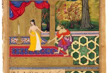 Indian Art / Mainly Miniature Paintings / by Woo Woof