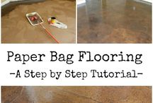 Paper Bag Flooring / by Pat Grubb