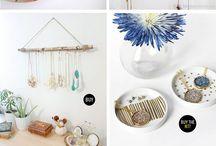 Jewelry holders DIY