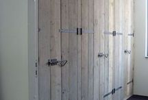 Slaapkamer Steigerhout