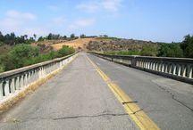 AW14 USA Made Photoshoot / California Winter / Fog / Sunset / Abandoned Roads / Union Pacific