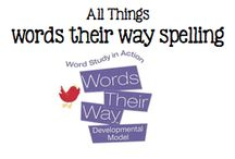 All Things Words Their Way Spelling / All Things Words Their Way Spelling / by Boy Mama Teacher Mama