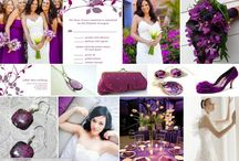 Color Wedding - Red and Puple / Wedding with Red 레드 컬러 웨딩 스타일링 아이디어