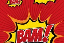 Comic book sound effects / Comic book sound effects