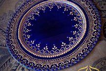 Mehndi thaal/plate/tray
