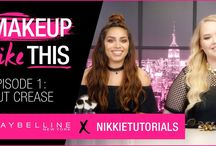 Makeup Like This Video Series / Maybelline's first Youtube series features a mystery challenge every week that host, NikkieTutorials, and her special co-host for the week must complete!  New episodes are up every Monday! Subscribe at youtube.com/maybellinenewyork!