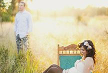 Pretty Pregnancy Photos / Ideas for baby bump shoots. / by Valerie Wicks