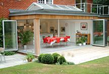 Flat Roof Ideas / Potential ideas for Clients considering flat roof options. wwwBuildingOptions.co.uk