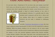 Latest PDF on Know More About Transformer / Do you know what a Transformer is? Do you know why your industry needs this? Don't worry; you will get the answer to all your questions here. A transformer is an electronic device that is specially designed for transfer current between two or more circuits.