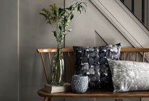 Landscape (SS15 interiors trend) / Naturally occurring scenery inspires the organic textures, prints and watercolour palette of the Landscape trend.
