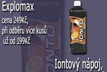 Iontovy nápoj doplnky vyzivy