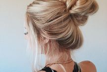 Messy Buns / Cute messy bun for a casual, and everyday hairdo!