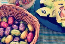 EasterEggs / Easter eggs. Chocolate, painted or anything