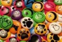 Crafts: Biggie Bead Earings