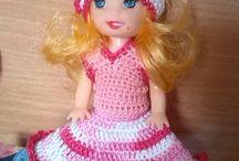 Bambole / Bambole all' uncinetto e bambole con vestiti all' uncinetto