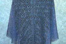 Shawls ~ knit & crochet