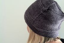 Dziergane czapki i kapelusze