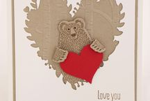 Bear Hugs Stampin Up / Stampin Up Bear Hugs set inspiration cards projects