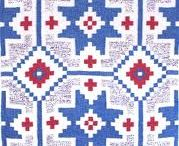 Veving inspirert avFou - oppgave 2014 / I chose weaving as depth study of teachers' college, and am still addicted