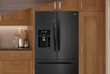 Black Stainless Steel Refrigerator / Dress up your kitchen with one of our new Smudge-Proof™ Black Stainless Steel refrigerators or other kitchen appliances. They fit beautifully with any kitchen design. Plus, cleanup is a snap thanks to the Smudge-Proof™ finish.