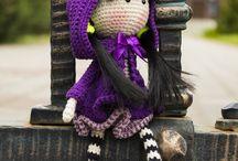 Crochet dolls M♥M
