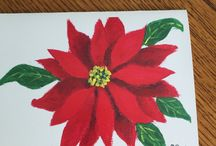 Poinsettia rouge