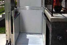 Wheelchair Lifts / Wheelchair Lifts, Wheelchair Elevators, Vertical Platform Lifts, EZ-Access Passport Vertical Lift.