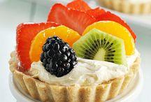 Food styling - mini desserts