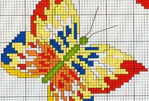 embroidery 3 - heart, butterfly,...
