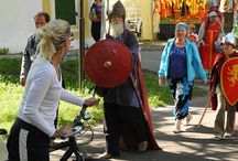 Cycling in Russia / Bicycles and cycling (tours) in Russia Fahrrad(touren) in Russland