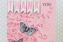 Thank you/bedankt kaarten / Bedanktkaarten