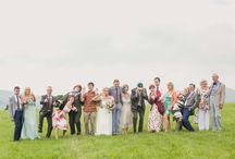 Group Images at a wedding