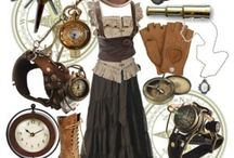 Steampunk, Steamfunk, and Steamer Trunks / A big pinch of science, a drizzle of romance, a handful of fantasy, a steamer trunk load of style, and an unlimited range of space-time -- this is my idea of the literary genre of steampunk. / by Miz Shands
