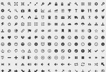 #simple #icons - 100 PNG icons in 11 sizes  / http://simpleicons.org/