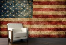 Design: Patriotism / Celebrate Patriotism All Year With Americana Style Cozy quilts, folk art, gingham and American flags help proclaim pride in the country even after the Fourth of July.