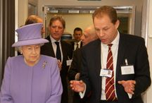 The Queen Opens the NCBRSI